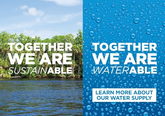 Together We Are SustainAble - Together We Are Water Able Ad Campaign