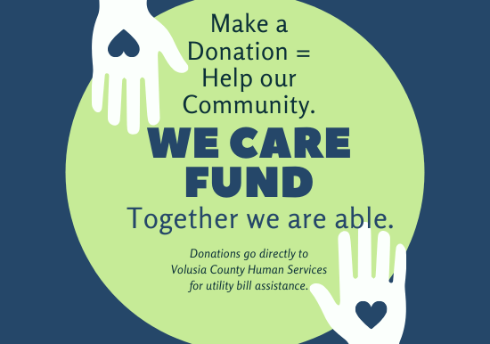 Make donations to the WE CARE fund to help our community.